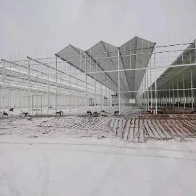 温室大棚骨架喷塑  安装效果图